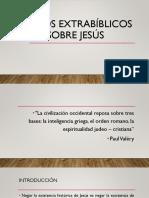 Textos extrabiblicos sobre Jesús