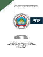 Analisis Dan Perancangan Sistem Penerimaan Mahasiswa Baru Kelas Ekstensi Fakultas Ekonomi Universitas Sains Al Qur