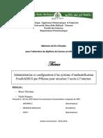Administration Et Configuration Dun Systeme Dauthentification Freeradius Par PfSense Pour Securiser