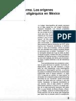 El pacto y la norma. Los orígenes de la legalidad oligárquica en México