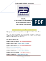 Planejamento para OAB 1ª fase