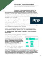 Tema 7 El Desarrollo de La Actividad Económica