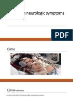 Common Neurologic Symptoms.ppt