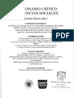 250696045 Diccionario Critico de Ciencias Sociales Hermeneutica
