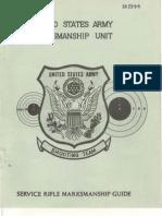 USAMU Service Rifle Marksmanship Guide