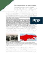 El Régimen Soviético y Sus Aliados en Europa Del Este y El Resto Del Mundo