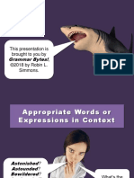 wordchoice.ppt