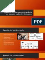 Aspectos Del Planteamiento y Diseño de Obras De