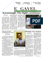The Gavel -- October 2018