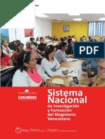Cuadernillo Sistema Nacional de Investigacion y Form. Del Magisteri Instrucción n 6