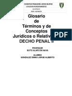 glosario derecho penal ll