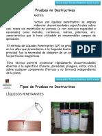 Presentación de Ensayo Tintas Penetrantes