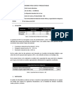 Reporte de Densidad Material Mina - El Brocal