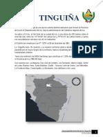 Distrito de La TINGUIÑA