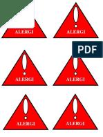 Alergi Logo