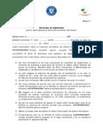 Anexa 7_Declaratie Eligibilitate Ajutor de Minimis