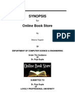 Synopsis Online Book Store
