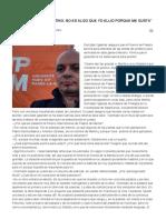Entrevista a Juan Antonio González Iglesias