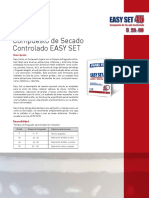 Ficha Masilla Secado Rapido EasySet