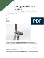 Reporte Financiero Energia Eolica y Solar