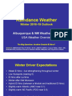 Winter 2018-19 Outlook