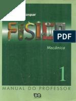A Gaspar - Física Vol 1- Mecânica [1a Ed][2000]- Manual Do Professor.pdf