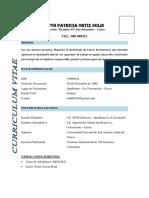 Curriculum PATRICIA