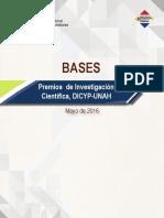 DICYP Convocatoria Premios Investigacion Cientifica