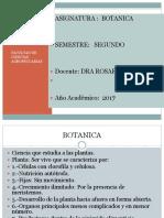 1.-Ciencias botánicas
