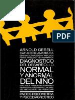 Arnold Gessell-diagnostico Del Desarrollo Normal y Anormal Del Niño (1)