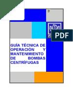 Guía Técnica de Operación y Mantenimiento de Bombas Centrífugas (1)