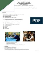 English Guide 3rdHS Bim1