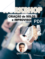 Workshop Criação de Solos e Improvisos