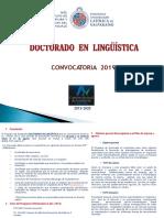 Convocatoria Doctorado en Linguistica PUCV 2019(1)