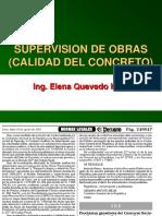 SUPERVISION DE OBRAS DE CONCRETO