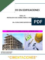 CONSTRUCCIONES I - TEMA IV