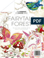 Colouring Book Fairytale Forest