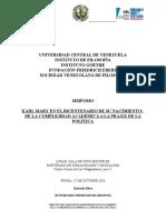 17 de Octubre 2018 Programa Karl Marx El Bicentenario Del Nacmiento Entre La Academia y La Política 4