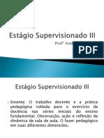 Aula Estagio Supervisionado III