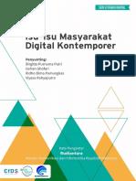 Isu-Isu Masyarakat Digital