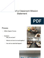 class mission statement