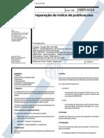 ABNT NBR 6034 - Preparacao de Indice de Publicação - Procedimento.PDF
