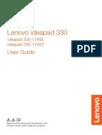 Lenovo Ideapad 330 17ikb 81dk002jmh
