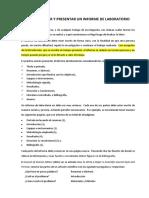 Guia Para Presentacion de Informe de Laboratorio