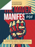 Maven Manifesto