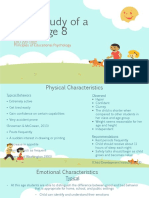 case study of a child age 8-output