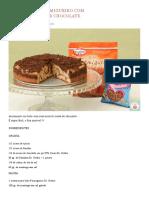 Bolo Formigueiro Com Crosta de Chocolate _ Escola de Bolo