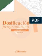 DOSIFICACION 1 grado