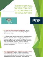 La Neuropsicologia en El Diagnóstico Clínico