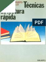 Técnicas de Lectura Rápida - Deusto